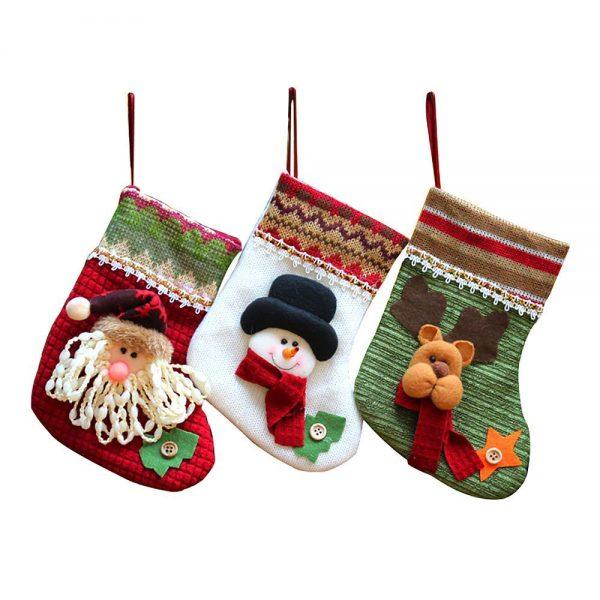 bonitos calcetines de navidad