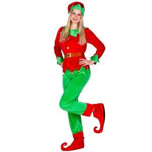 elfo mujer disfraz