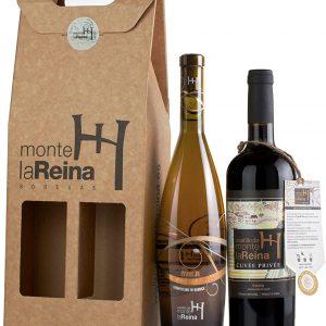 lote de navidad de vino